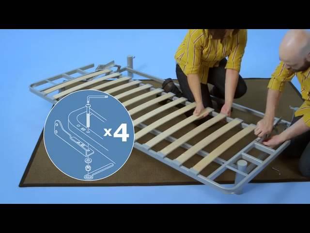 Ikea Beddinge Sofabed Assembly Instructions Youtube