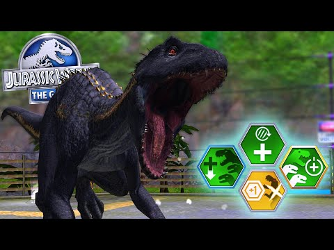 INDORAPTOR AND 4 NEW MODs || Jurassic World The Game [FHD-1080p]