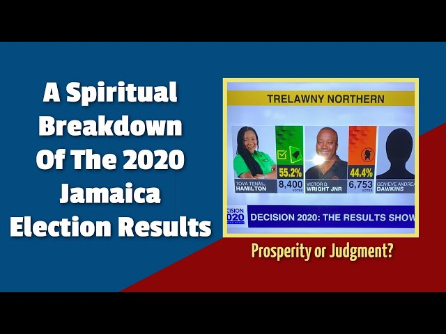 Prosperity or Judgment? A Spiritual Breakdown Of The 2020 Jamaica Election Results
