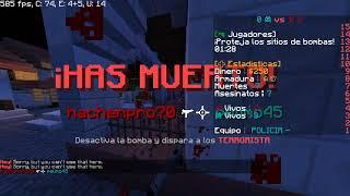 CS:GO en minecraft :v
