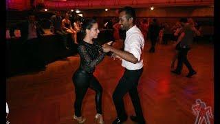 Arun Bachatero & Dóra Egressy - Salsa social dancing | Grazy Salsa Festival 2018