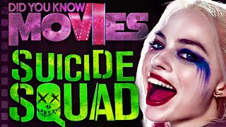 Suicide Squad's INSANE Secrets - Did You Know Movies ft. Remix of WeeklyTubeShow