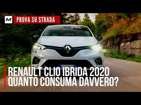 RENAULT CLIO E TECH HYBRID   PROVA SU STRADA e CONSUMI REALI