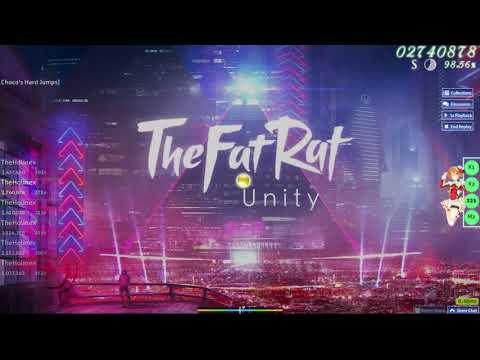 Osu! TheFatRat - Unity 98,15 %
