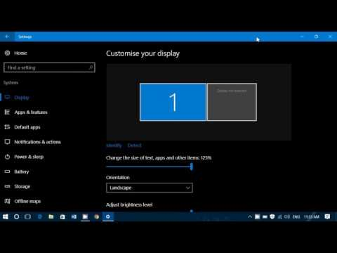 Windows 10 Settings System Display Learn how to tweak your display through this setting