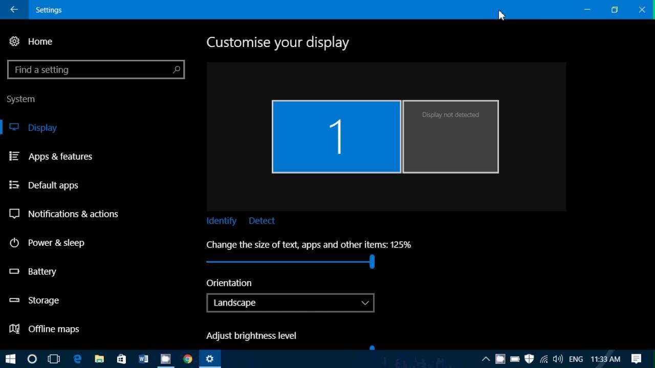 Cách Tối Đa Hóa Không Gian Hiển Thị Màn Hình Windows 10 - HUY AN PHÁT