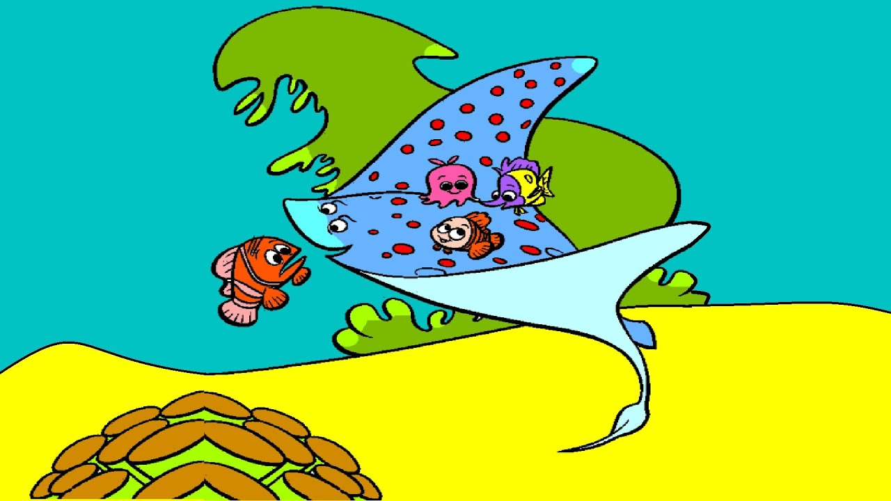 nemo coloring pages nemo coloring book youtube