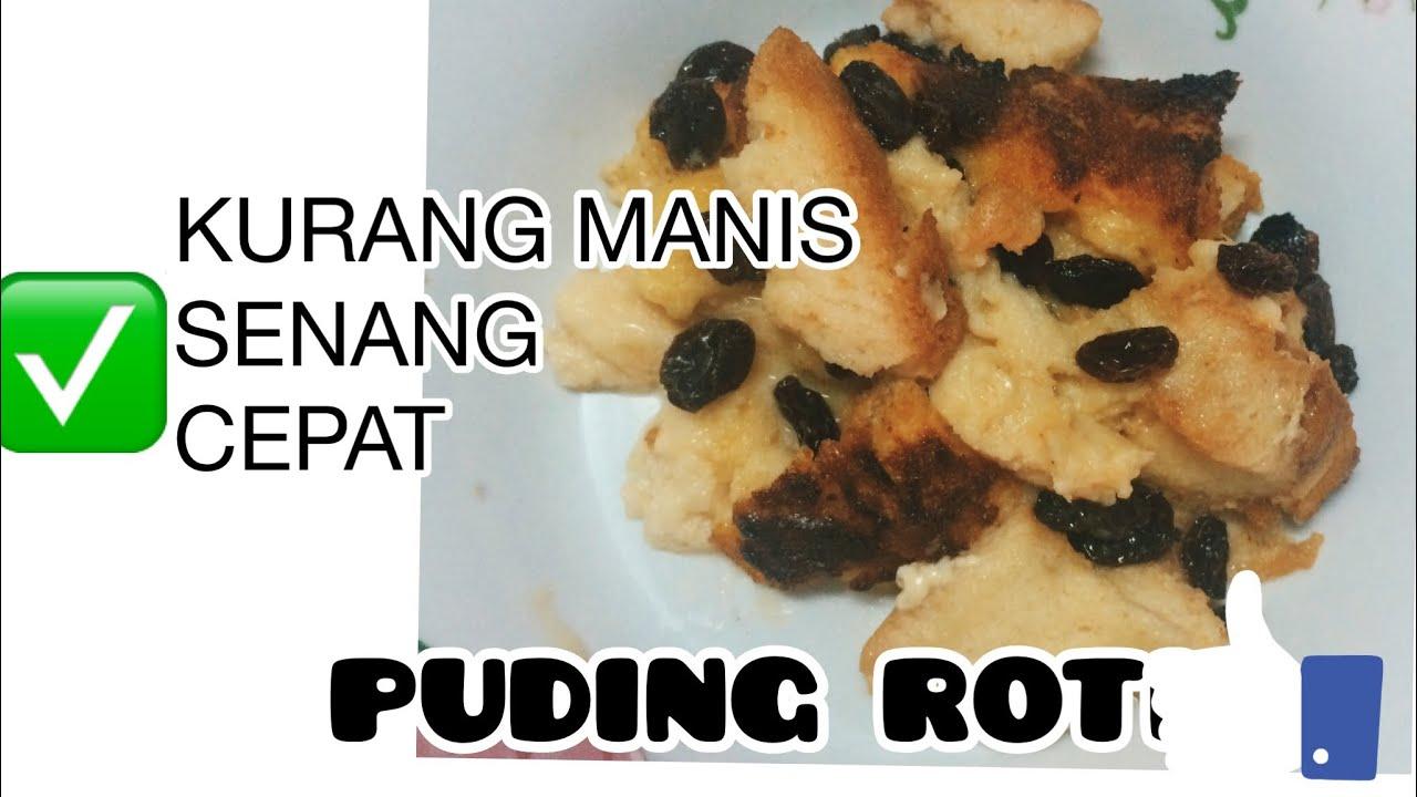 puding roti guna air fryer resepi mudah youtube Resepi Puding Roti Air Fryer Enak dan Mudah