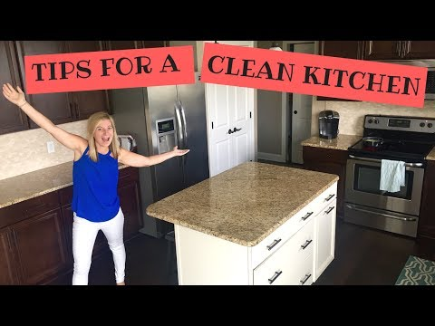My Tips For A Cleaner Kitchen | How I Keep My KITCHEN CLEAN