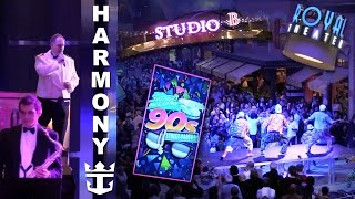 Harmony of the Seas - 90s Party, Captain's Welcome, Ice Rink, Theater, & More on Decks 4-5