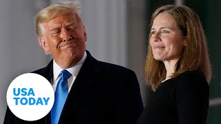 Judge Amy Coney Barrett takes the official Constitutional Oath for SCOTUS | USA TODAY