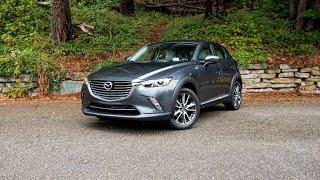 2016 Mazda CX-3 Grand Touring Car Review