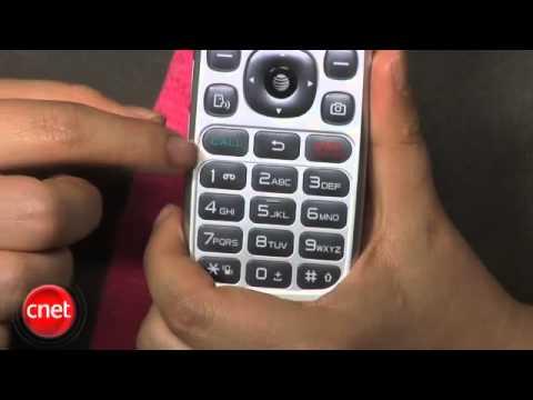 ATT Pantech Breeze III cell phone