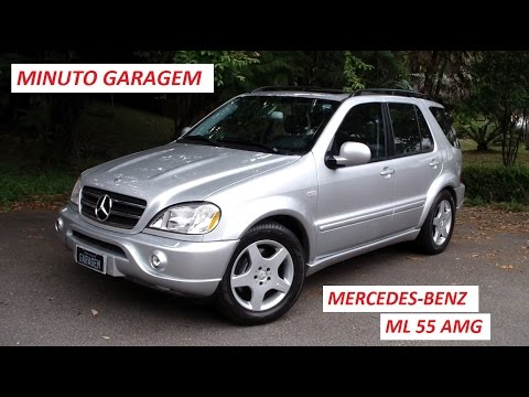 minuto garagem mercedes benz ml 55 amg youtube. Black Bedroom Furniture Sets. Home Design Ideas