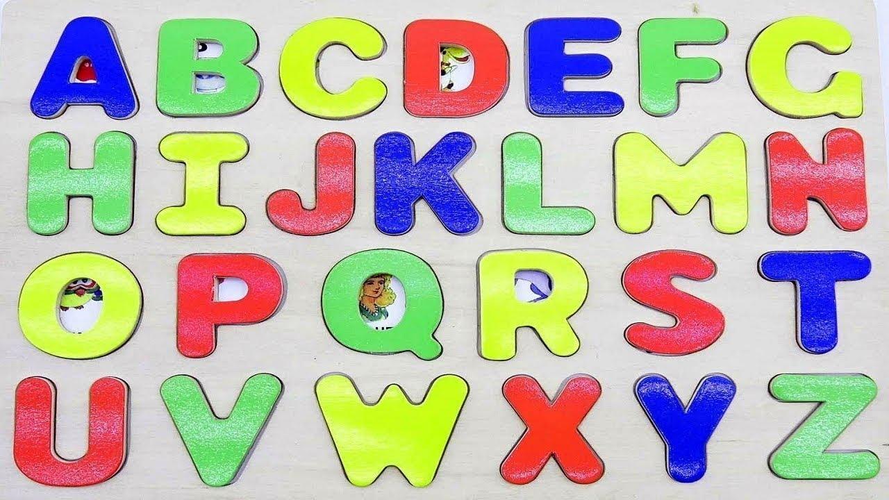Alphabet Learning Activity for Preschool Children - Alphabet Song for Kids