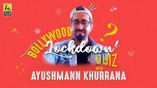Ayushmann Khurrana   Bollywood Lockdown Quiz   Anupama Chopra   Film Companion