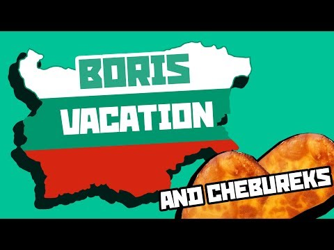Cheburek on Boris street - Bulgaria vacation