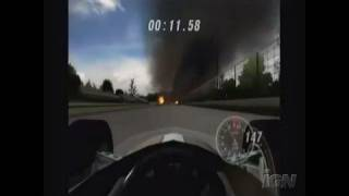Indianapolis 500 Legends Nintendo Wii Video - Dodging the