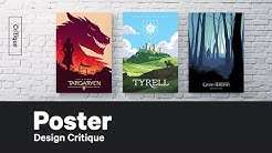 Poster Design Critique – The Futur Game of Thrones Challenge 3/3