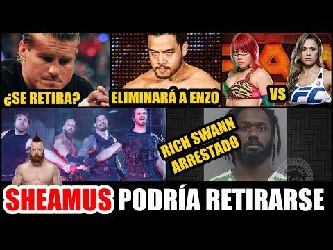 WWE NOTICIAS: RICH SWANN ARRESTADO, ROUSEY VS ASUKA, TRIPLE H/THE SHIELD Y MAS!