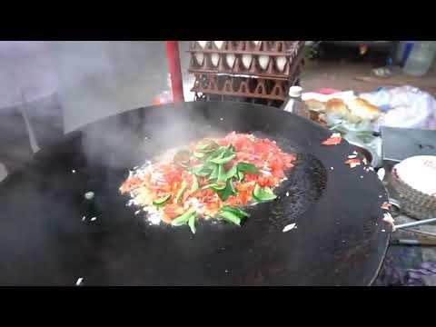 EGG FRIED RICE   Nasi Goreng Telur India Makanan Pinggir Jalan #indianstreetfood