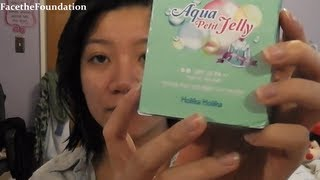 Holika Holika Jelly BB Cream Review/Demo video on acne/hyperpigemented skin Thumbnail