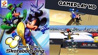 Disney Sports Skateboarding Gameplay - Gamecube HD