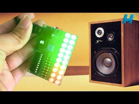 Review LED Nháy Theo Nhạc Thế Hệ Mới Của Lm3915   Đơn Giản Mà Đẹp, Giá 49K, 2 Rải Led   Banlinhkien
