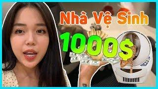 REVIEW MÁY DỌN PHÂN THÔNG MINH 1000$ CHO MÈO   LIỆU CÓ XỨNG ĐÁNG