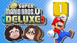 Super Mario Bros U Deluxe: Nutty - PART 1 - Game Grumps