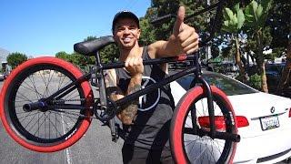 I GOT A NEW BMX BIKE!