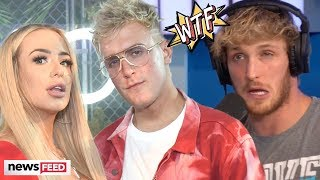 Logan Paul SPEAKS OUT About Jake & Tana's Engagement!