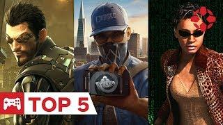 5 játék, melyekben a jó ügyért kell hackelni
