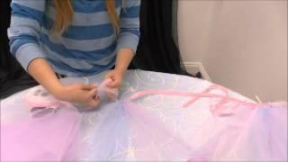 Instant No-Sew Tutu Tutorial | How To Setup | tableclothsfactory.com