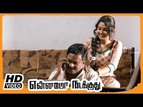 Yennamo Nadakkudhu Tamil Movie | Scenes | Azhagam Perumal Tricks Vijay Vasanth | Mahima