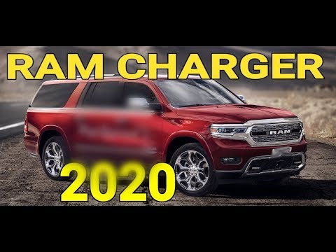 It's Official Ram RamCharger 4 Door SUV In 2020
