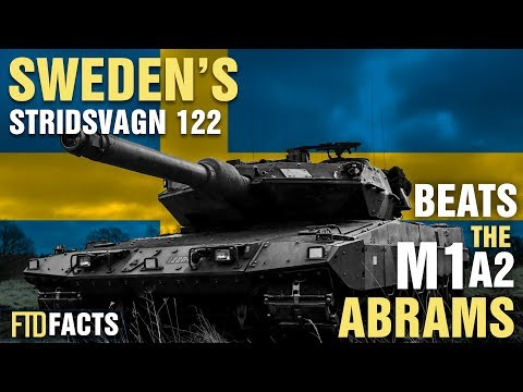 10+ Incredible Facts About Sweden's STRIDSVAGN 122 Battle Tank