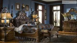 The Sovereign Poster Bedroom Collection From Aico Furniture