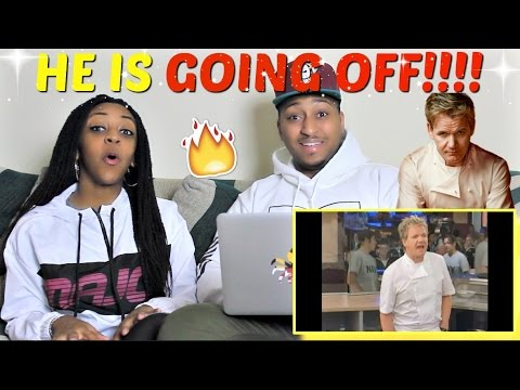 Gordon Ramsay Uncensored Rapid Fire Highlights 1 REACTION!!!!