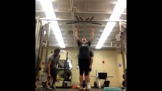 Scap pull-up + T2B