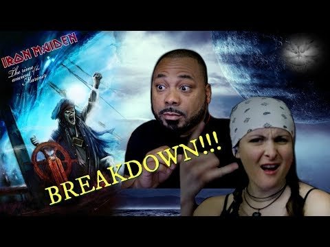Iron Maiden Rime Of The Ancient Mariner Reaction!!!