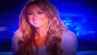 American Idol Season 11 contestant Brittany Kerr's National promo commercial