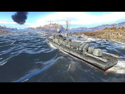 War Thunder Naval Ships Cinematic Gameplay German Navy
