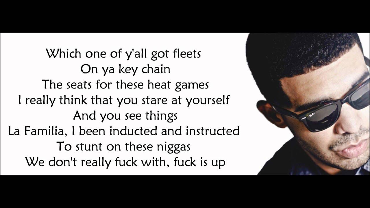drake - aston martin music verse lyrics video - youtube