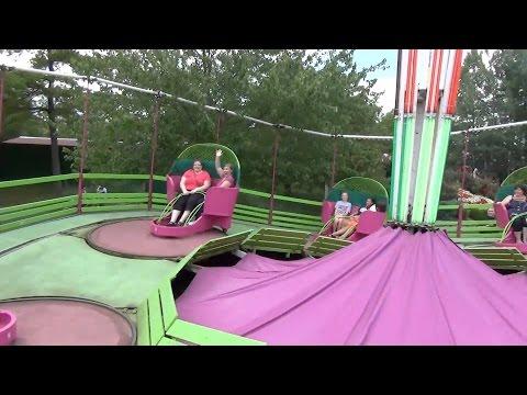 Tilt-A-Whirl POV! An American Classic Carnival Ride! Coney Island Cincinnati