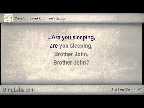 Are You Sleeping? - Sing Out Loud Children's Songs - with Lyrics