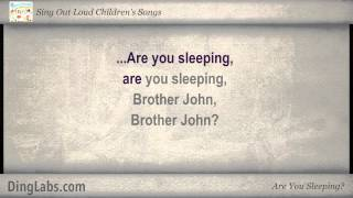 Are You Sleeping? - Sing Out Loud Children