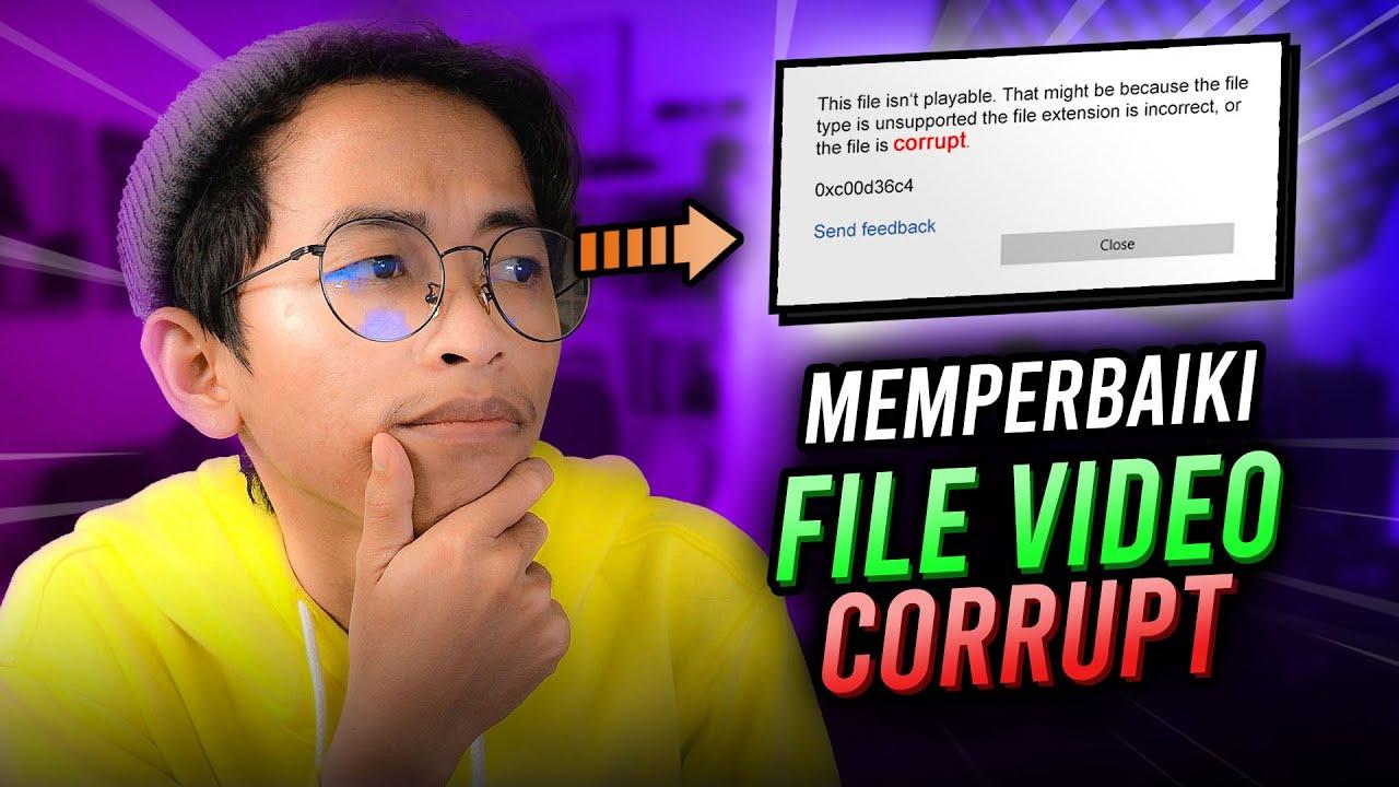 Cara Memperbaiki File Video Corrupt (Tidak Bisa diputar) | Wondershare RepairIt