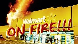 WALMART GOT TOO LIT *CAUGHT FIRE!!!* | Mark My World