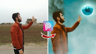 كيف تعدل صورك احترافية من الموبايل بتطبيق PicsArt 🔥 | Picsart Editing Tutorial